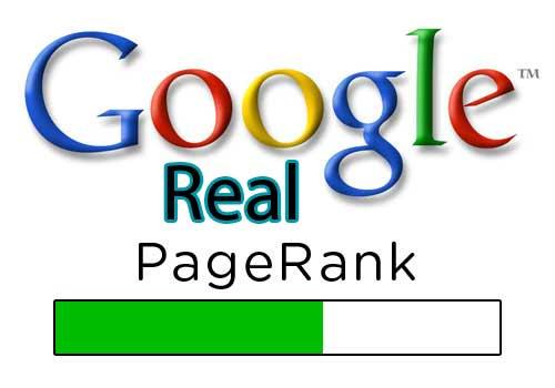 پیج رنک فعلی یا Real Page Rank