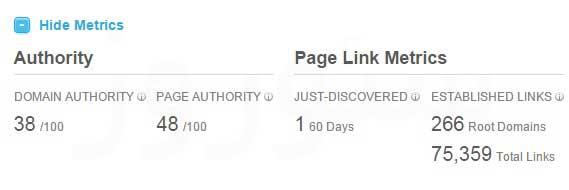 page domain authority اعتبار صفحه و دامنه