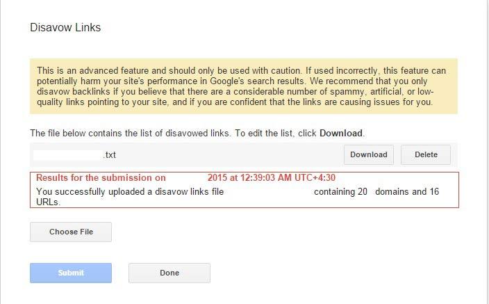 پنالتی و جریمه شدن سایت در گوگل